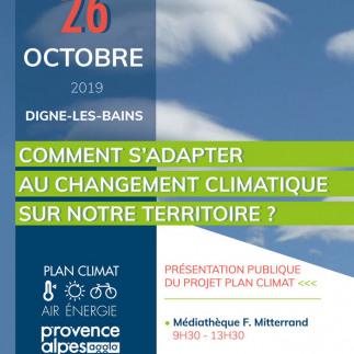 Présentation publique du projet plan climat