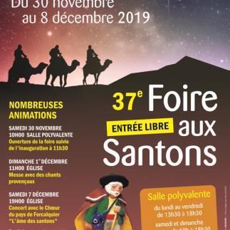 37 ème foire aux santons