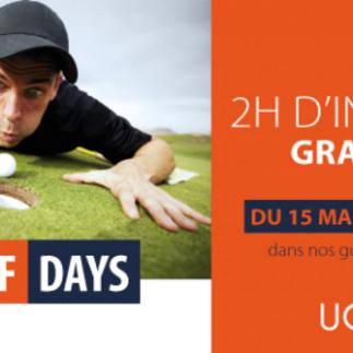 UGolfs Days - Initiations gratuites