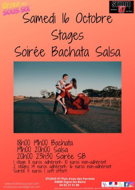 Stage et soirée Salsa-Bachata