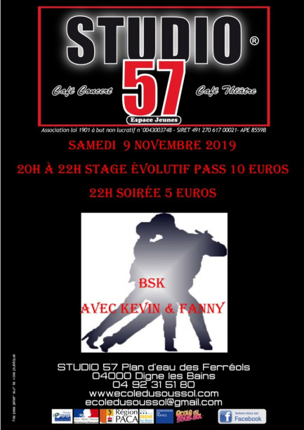 Stage Evolutif Bachata et soirée BSK