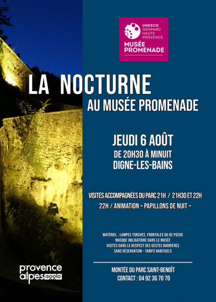 Nocturne au Musée Promenade
