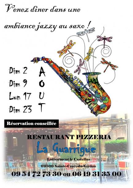Soirées Jazzy à La Guarrigue
