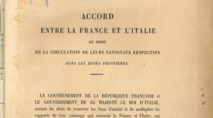 Lecture d'archives : L'immigration italienne dans la vallée de la Haute-Bléone XIXe-XXe siècle