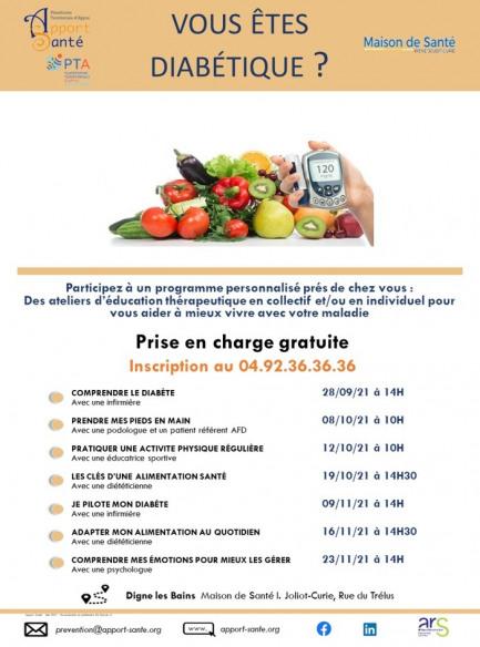 Programme d'éducation Diabète