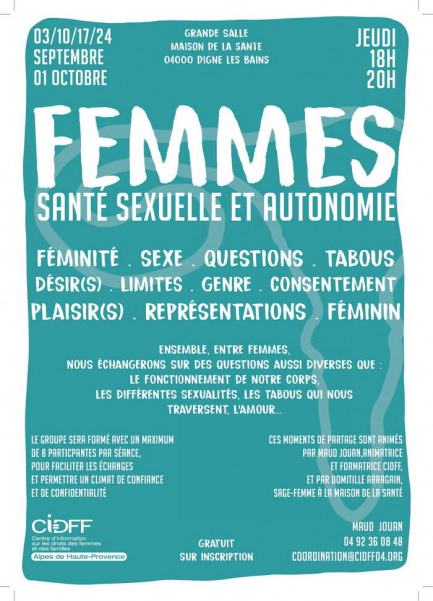 Femmes - Santé sexuelle et autonomie