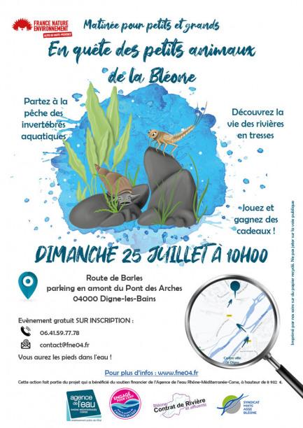 En quête des petits animaux de la Bléone - Matinée pour petits et grands