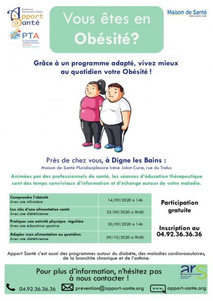 Programme d'éducation sur Obésité