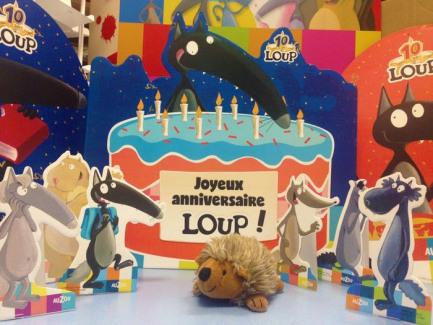 La librairie fête ses deux ans avec Loup !