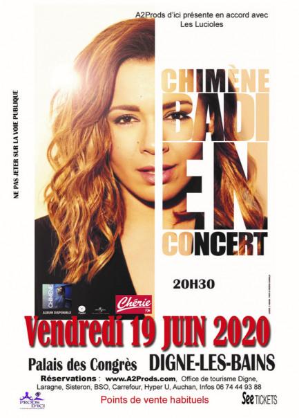 Concert Chimène BADI